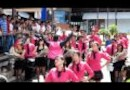 Cloud Forest School: Sept 15, 2011 Opening Song in Mall.MOV